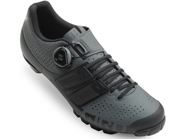 Giro Code Techlace Shoes Men dark shadow/black